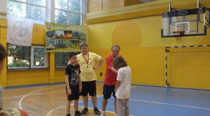 """Turniej koszykówki 1×1 o Puchar Prezesa UKS """"Melo"""" Błonie"""